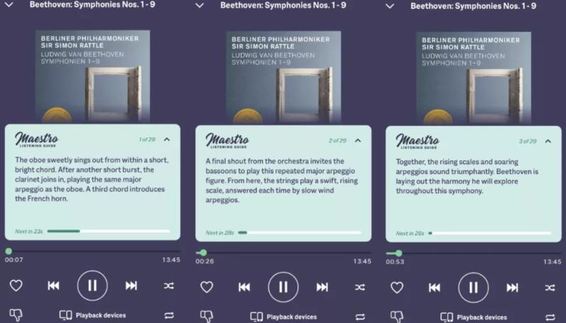 Dịch vụ streaming Primephonic bổ sung tính năng hướng dẫn nghe Maestro
