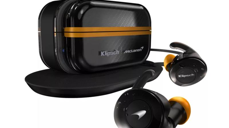 Klipsch T5 II True Wireless Sport McLaren: Sự kết hợp độc đáo giữa 2 tên tuổi lớn