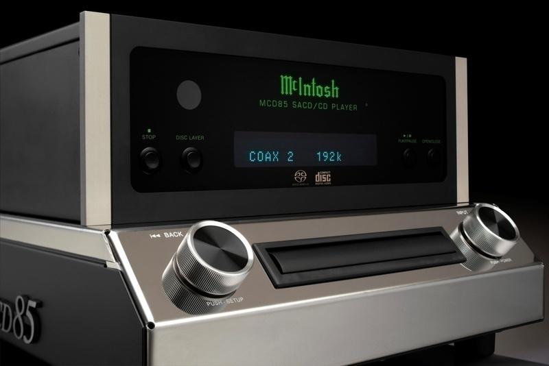 McIntosh mở bán đầu SACD/CD Player MCD85