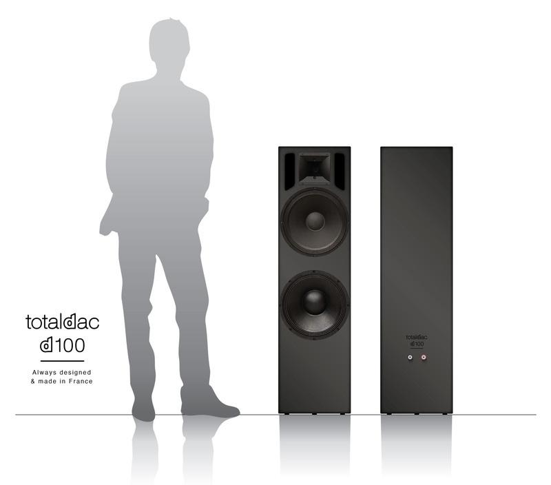 Totaldac bật mí thông tin về mẫu loa mới D100