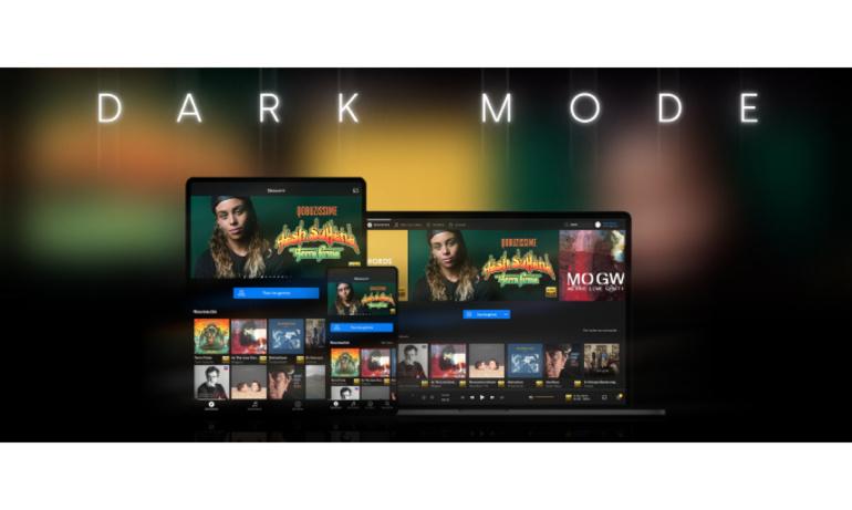 Ứng dụng Qobuz trên máy tính đã có thêm Dark Mode