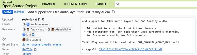 Định dạng âm thanh Sony 360 Reality Audio chuẩn bị có mặt trên nền tảng Android