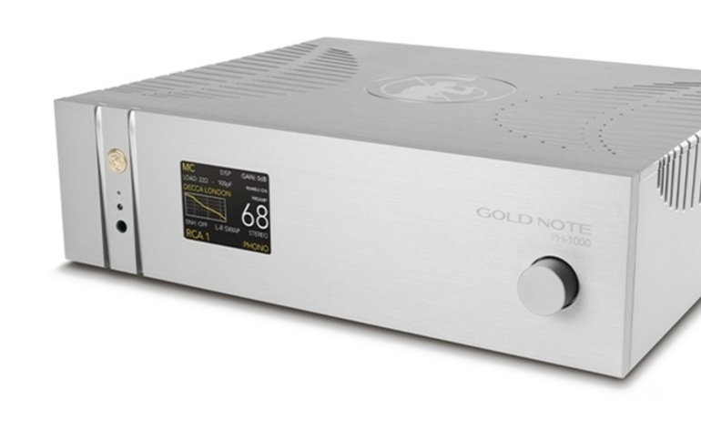 Gold Note chính thức trình làng phono preamp đầu bảng PH-1000