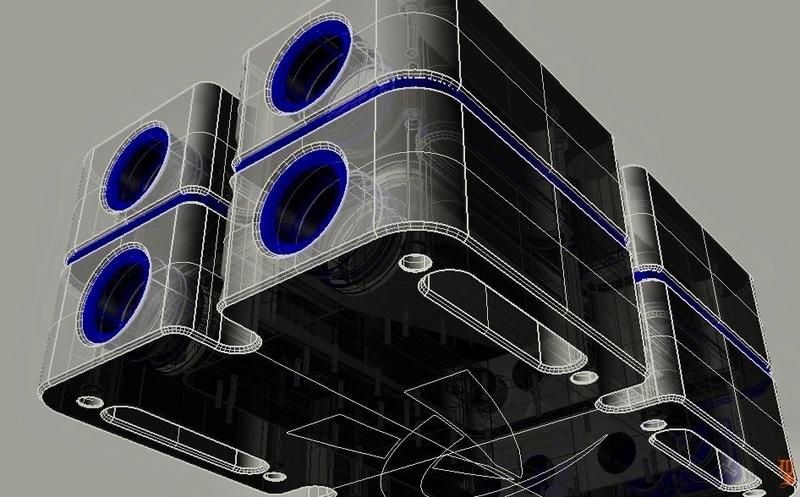 Andrea Pivetta tung loạt ảnh giới thiệu bộ khuếch đại dùng công nghệ chất lỏng OiO