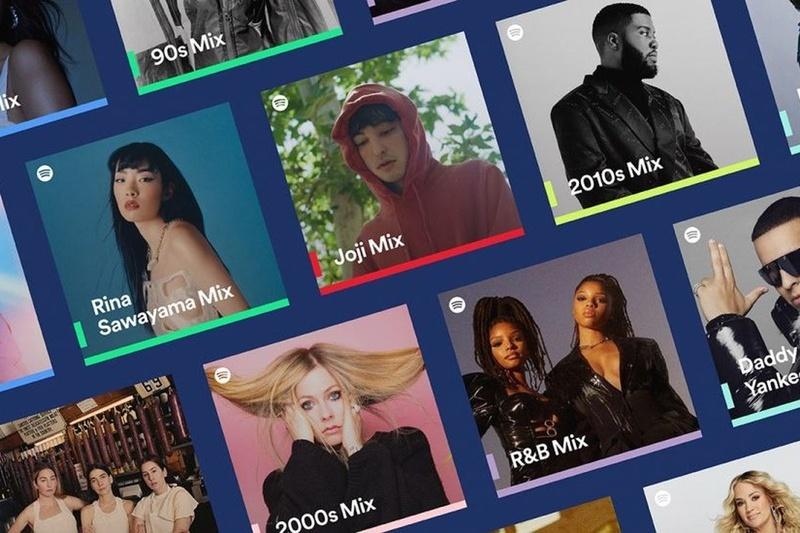 Spotify giới thiệu danh sách nhạc cá nhân hóa mới mang tên Spotify Mixes