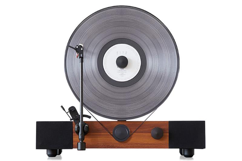 Jasmine Audio bổ sung thêm các tùy chọn màu mới cho mâm đĩa than Vertical