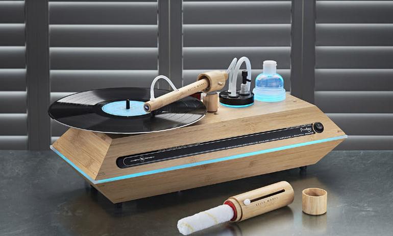 Keith Monks Prodigy: Chiếc máy rửa đĩa vinyl với thiết kế độc lạ