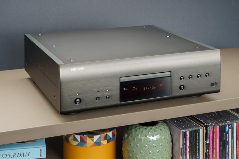 Denon DCD-A110: Thiết kế mới cùng nhiều công nghệ tiên tiến