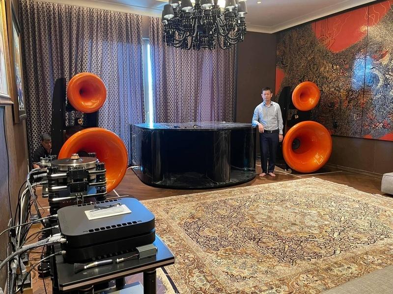 Theo dõi quá trình lắp đặt loa kèn hi-end Cessaro Horn Acoustics Beta II F4 của Công Audio