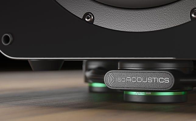 IsoAcoustics ra mắt Aperta Sub: Bộ chân chống rung chuyên dụng cho subwoofer