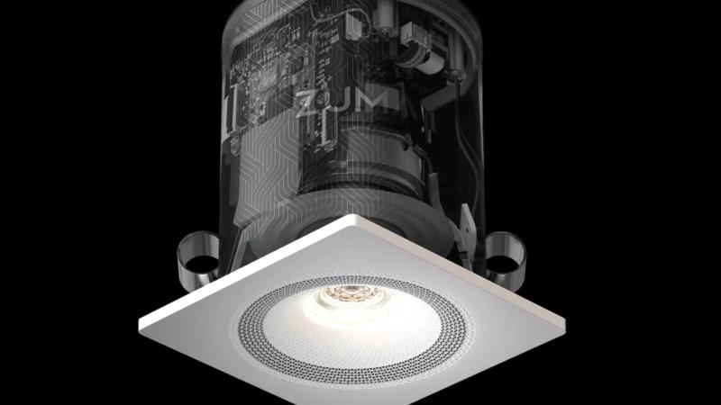 Zuma Lumisonic: Khi đèn trần cũng là loa không dây