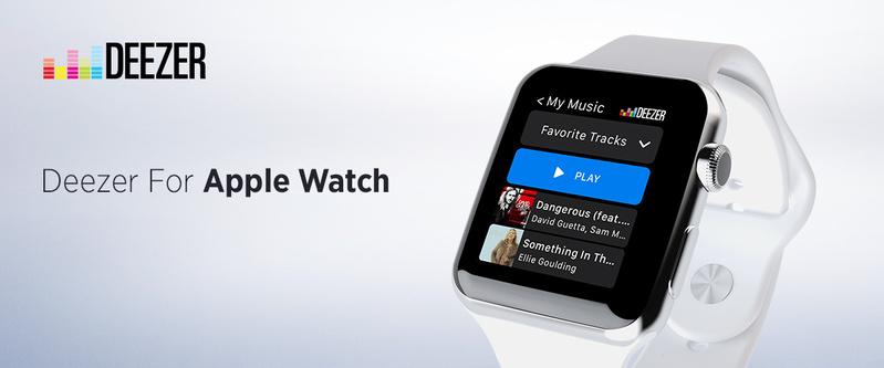 Người dùng Deezer nay đã có thể nghe nhạc trực tiếp từ đồng hồ Apple Watch