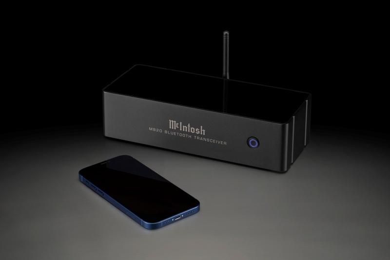McIntosh MB20 Transceiver: Giải pháp đơn giản để bổ sung kết nối không dây cho hệ thống