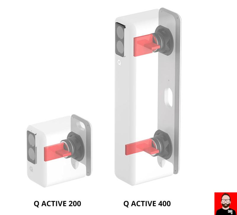 Q Acoustics trình làng loa cột thông minh Q Active 400