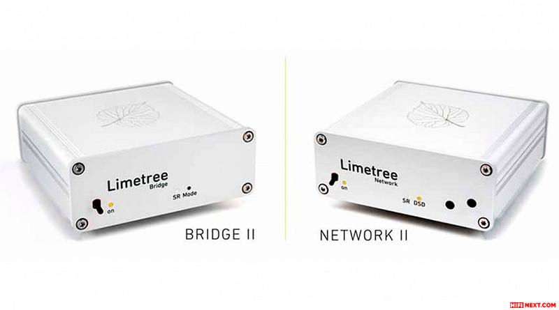Lindemann giới thiệu bộ đôi network player Limetree NETWORK II và BRIDGE II