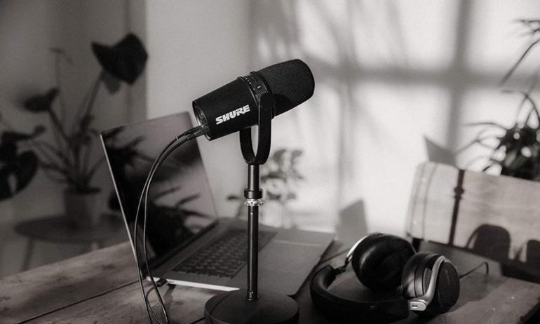 Shure MV7: Cải thiện chất lượng thu âm cho các nội dung sáng tạo