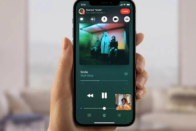 Apple hé lộ tính năng SharePlay cho FaceTime