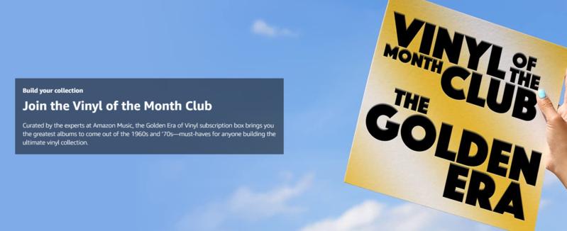 Amazon ra mắt Vinyl of the Month Club, phí hội viên chỉ 24,99 USD/tháng