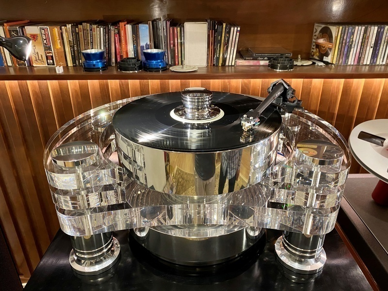 Transrotor Orion FMD Reference: Kiệt tác thiết kế mâm đĩa than