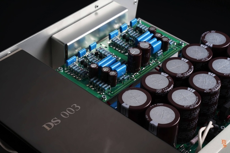 Cận cảnh hệ thống Equalizer đi kèm cartridge quang học DS Audio DS-003
