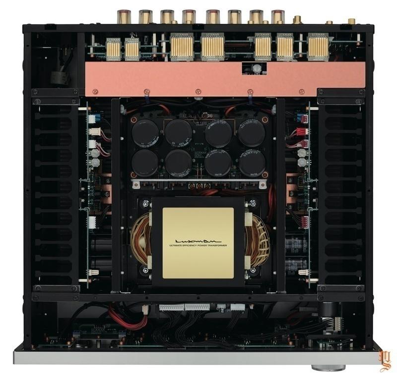 Luxman chính thức ra mắt ampli tích hợp L-595A SE