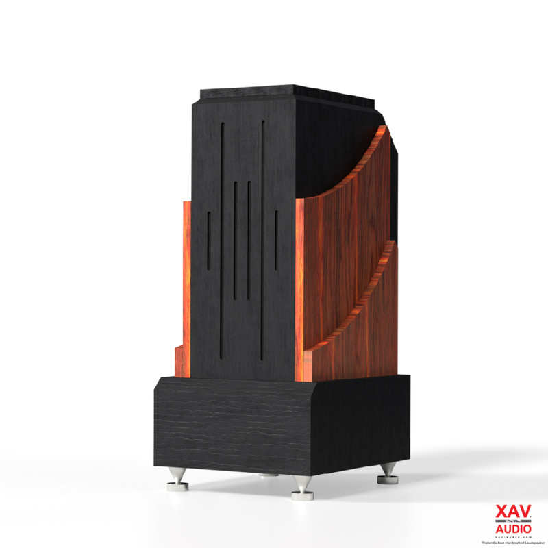 XAV Audio RioBass: Chiếc subwoofer kiêm chân loa dành cho các đôi bookshelf cao cấp