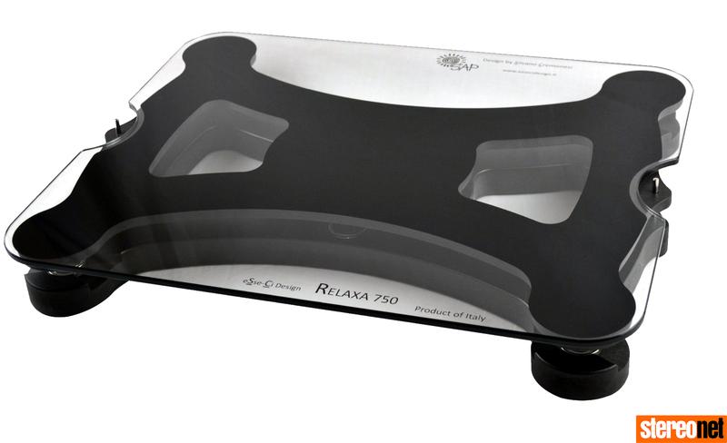 eSseCi Relaxa 750: Tấm kê từ tính độc đáo dành cho mâm đĩa than