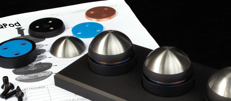 Magico QPod: Bộ chân kê chuyên dụng dành cho thiết bị âm thanh hi-end
