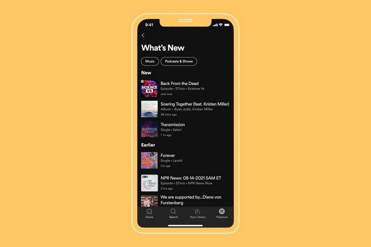 Spotify ra mắt tính năng