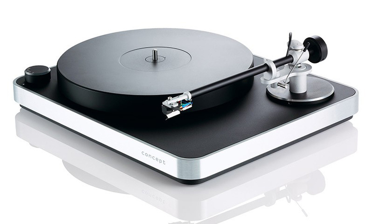 Mâm đĩa than Clearaudio Concept: Giải pháp đơn giản và hiệu quả để nghe nhạc từ đĩa vinyl