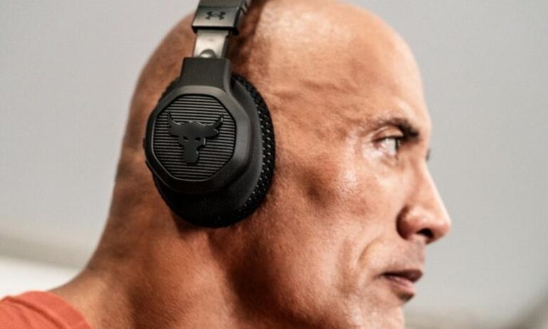 JBL ra mắt tai nghe chống ồn thể thao Project Rock với màn góp mặt của siêu sao The Rock