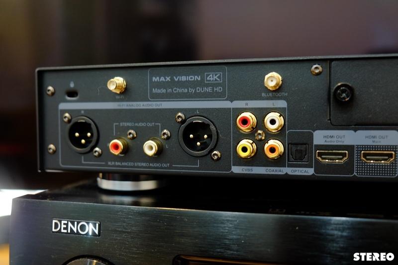 Dune HD Max Vision 4K: Đem trải nghiệm xem phim cao cấp đến phòng phim tại gia