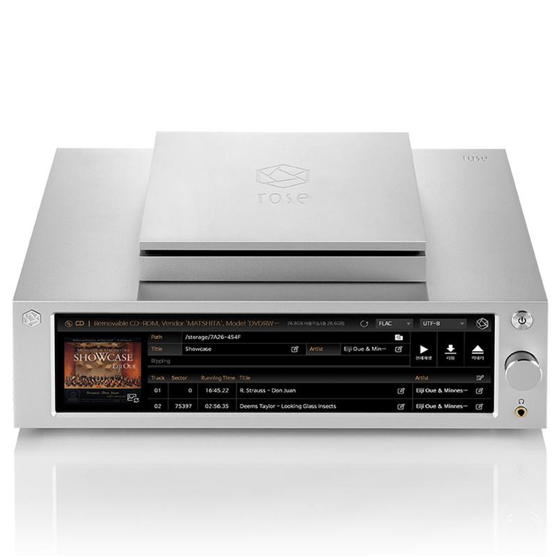 Ổ đĩa rời RSA780 CD Drive: Món phụ kiện bổ sung tính năng phát CD cho đầu phát nhạc số HiFi Rose