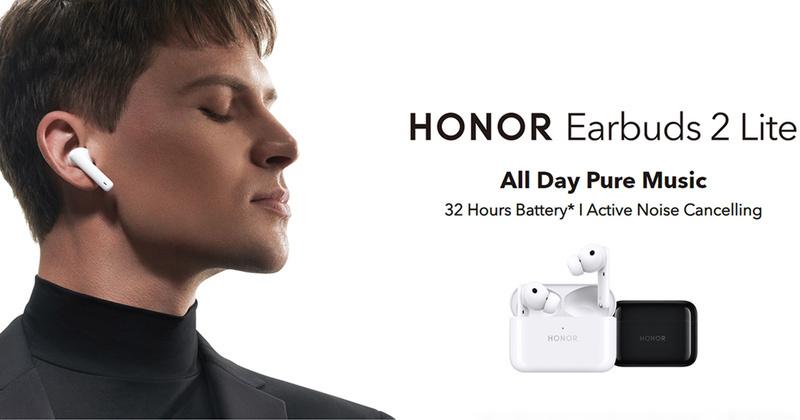 Honor ra mắt tai nghe true-wireless chống ồn giá rẻ Earbuds 2 Lite