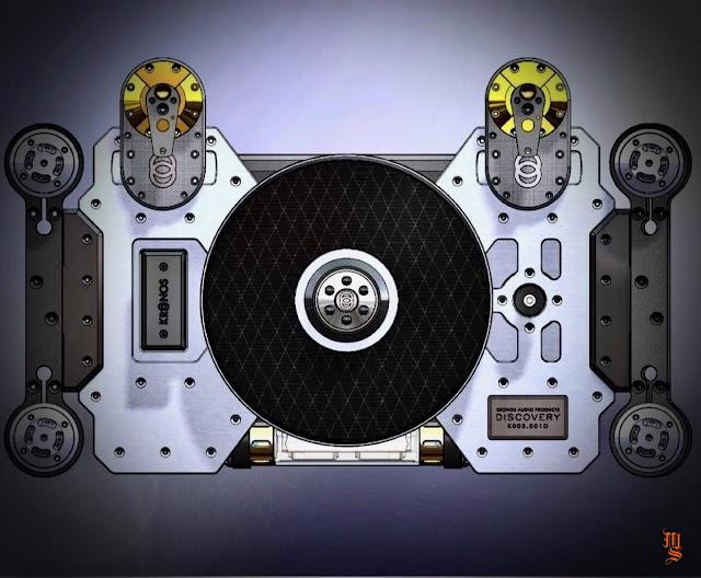 Kronos Audio hé lộ thông tin mới nhất về mâm than hi-end Discovery