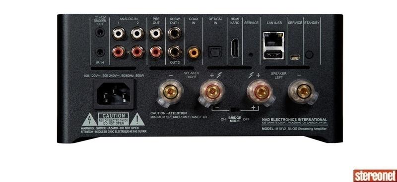 NAD giới thiệu ampli tích hợp Master M10 V2: Nhiều nâng cấp hấp dẫn