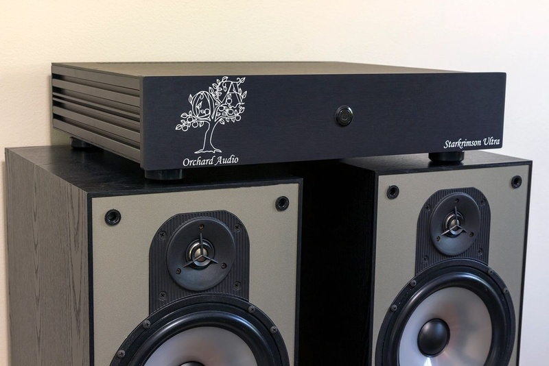 Orchard Audio hé lộ đầu phát nhạc số đa năng Starkrimson Streamer Ultra