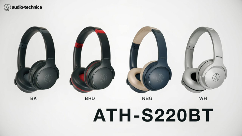 Audio-Technica ATH-S220BT: Thiết kế thời trang, pin 60 tiếng, giá chỉ 69 USD