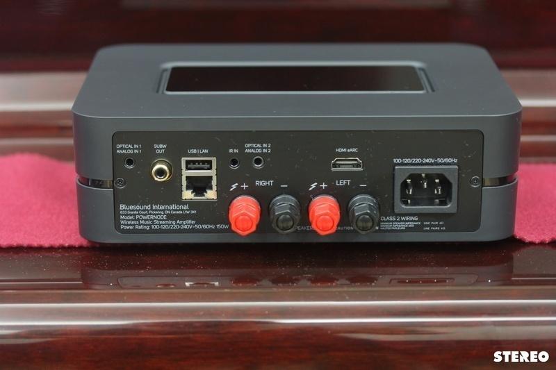 Ampli tích hợp Bluesound POWERNODE: Lựa chọn tối ưu cho hệ thống nghe nhạc không dây nhỏ gọn, đa năng