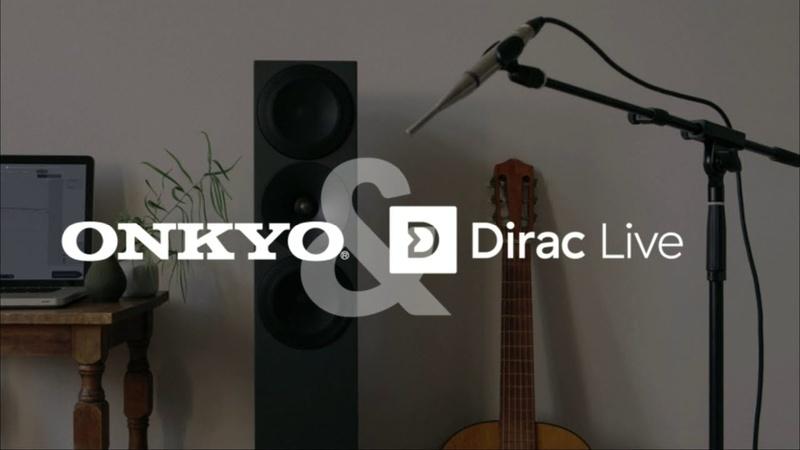 Công nghệ Dirac Live chính thức có mặt trên sản phẩm Onkyo, Pioneer Elite và Integra