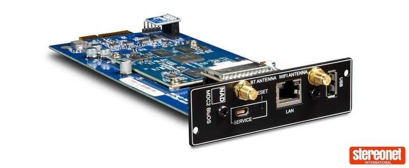 NAD giới thiệu ampli tích hợp dùng thiết kế module C 399