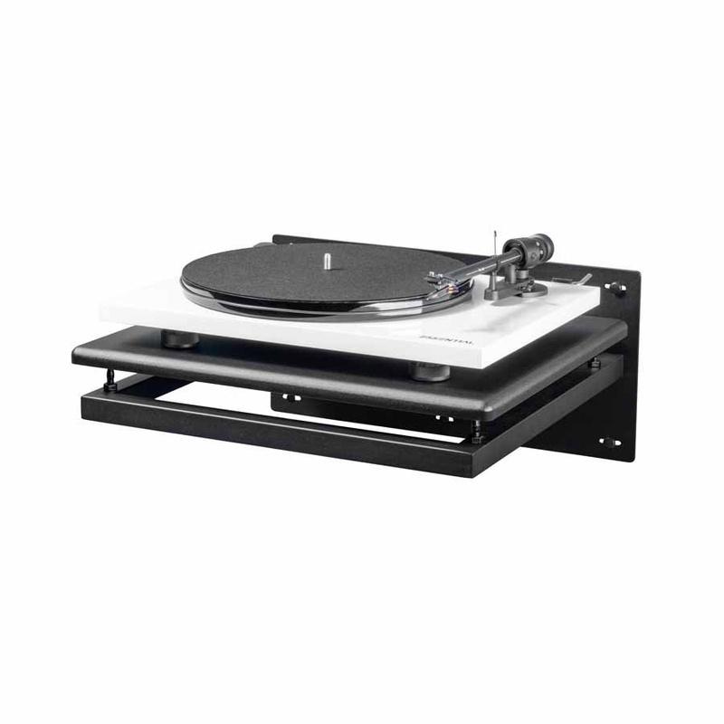 Biến hệ thống nghe nhạc dùng cơ đĩa than trở nên gọn gàng hơn với Vulcan Turntable Wall-mount Shell
