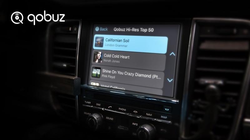 Qobuz ra mắt tính năng CarPlay Online cùng playlist thông minh My Weekly Q