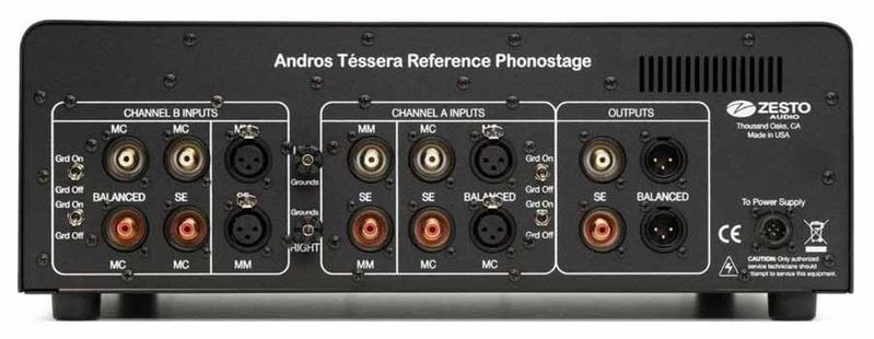Zesto Audio trình làng phono preamp đẳng cấp tham chiếu Andros Téssera Reference