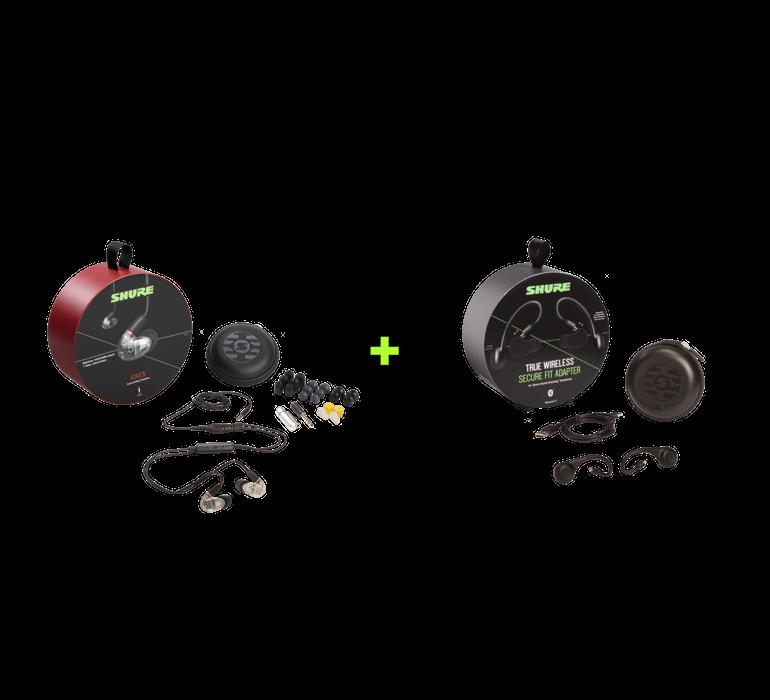 Tai nghe in-ear Shure Aonic 5: Nghe nhạc hay hơn với khả năng cách âm thụ động hiệu quả cao
