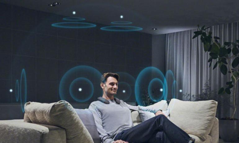 Sony giới thiệu loa vòng cổ đầu tiên có thể phát nội dung Dolby Atmos
