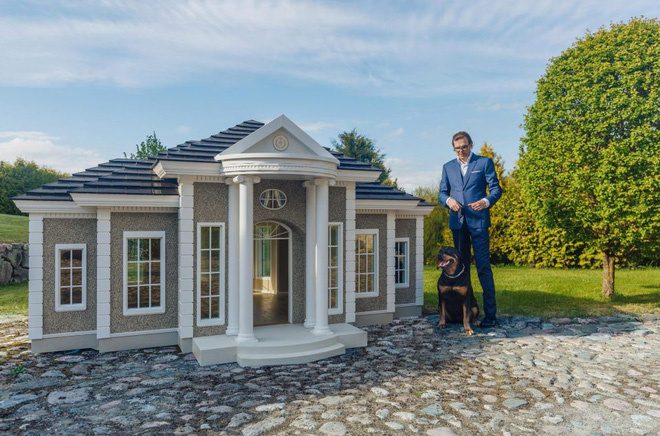 Bỏ ra 4 tỉ đồng để mua nhà cho cún cưng, bạn có dám không?