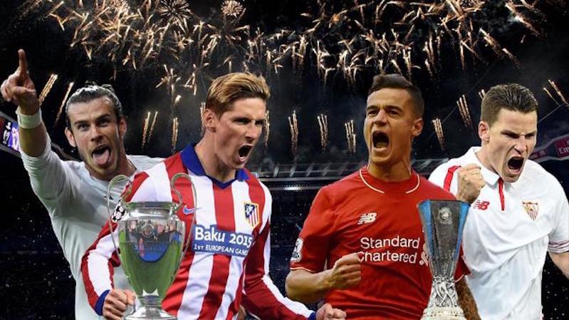 Fan vui sướng vì sắp được xem chung kết Champions League và Europa League trực tiếp trên Youtube.