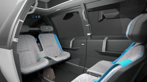 Taxi bay bằng điện sử dụng công nghệ Công thức 1 để chở khách