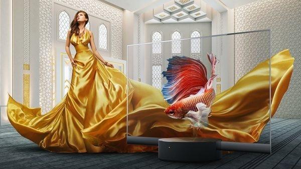 TV kính trong suốt Xiaomi Mi TV OLED: Triết lý mới về nghệ thuật thưởng thức thượng lưu